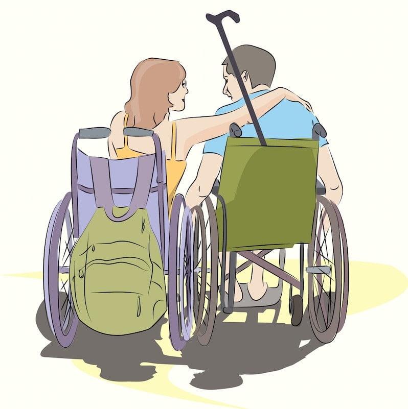 La movilidad reducida es una puntuación que aparece englobada dentro del reconocimiento de grado de discapacidad