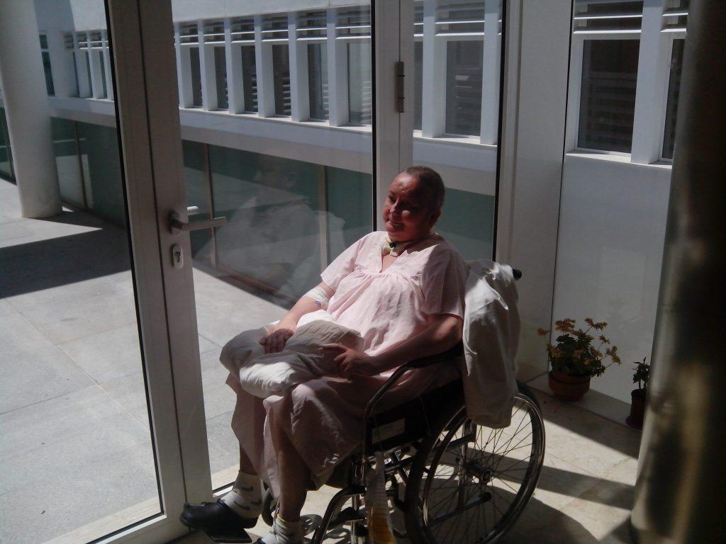 Proceso de rehabilitación de una paciente del Servicio de Daño Cerebral de Hospitales Nisa Sevilla Aljarafe