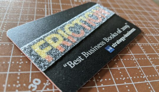 friction by roger dooley - sensory marketing business card