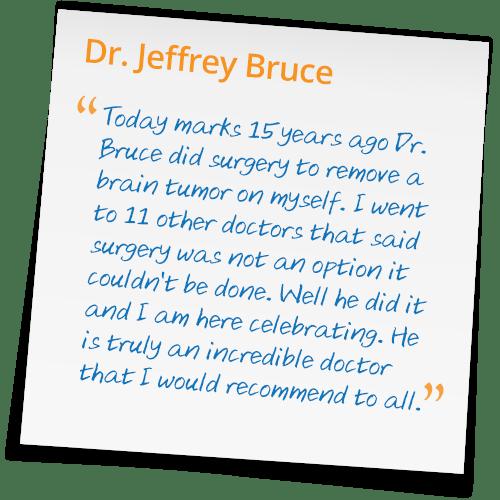 Dr Jeffrey Bruce Reviews