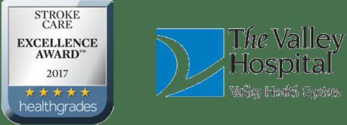 Valley Hospital Logo Stroke Care Award