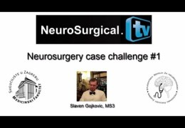 """Case Challenge"" Feature added to Neurosurgical TV"