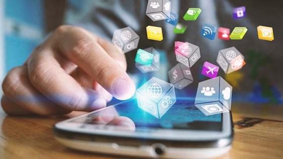 Social media concept.media marketing.