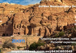 Jordan Neurosurgery Grand Rounds, LIVE, at 10:00 am EST, 5 pm Jordan time, with Ibrahim Sbeih MD presenting