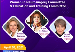 NOW LIVE LIVE……April 30th, 12 pm to 4 pm GMT,  WFNS, with Women in Neurosurgery Meeting of Education and Training Committee
