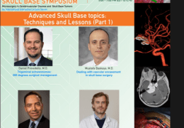 Recorded LIVE, Thursday, May 20, 2021,  Univ of Miami #cerebrovascular #skullbase Zoomposium  featuring 4 stars of #skullbasesurgery, with Humor!