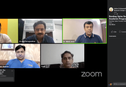 """NOW LIVE, Spine Conference from the Bombay Spine Society, presenting """"Osteoporotic Fracture Management"""""""