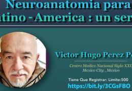 VIVO, un Series de Neuroanatomia con 12 Charlas, uno cada SABADO, empezando 11th de Septiember por Victor Hugo Perez Peres