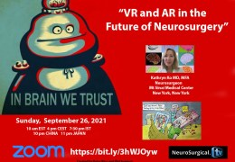 In Brain We Trust: Virtual Reality, Augmented Reality and the Future of Neurosurgery, with New York Neurosurgeon Kathryn Ko MD