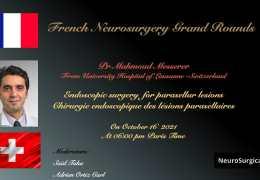 TRADUITE VIVRE 16 Octobre, 2021……………..VIVO……………….., Journées scientifiques de neurochirurgie française, avec le neurochirurgien suisse Mahmoud Messerer MD présenta
