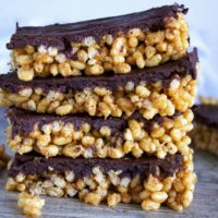 Healthy Almond Butter Crispies