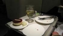 Gutes Essen in Air New Zealand Flieger