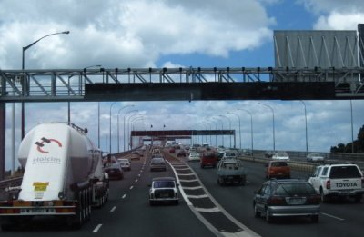 SH1N Harbour Bridge Auckland