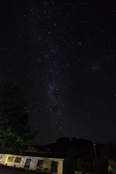 Nacht über Neuseeland Teil II
