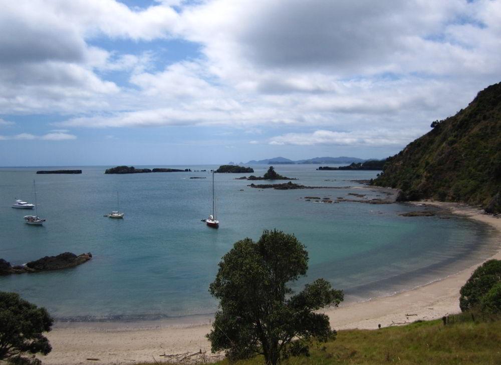 Eine Bucht in der Bay of Island