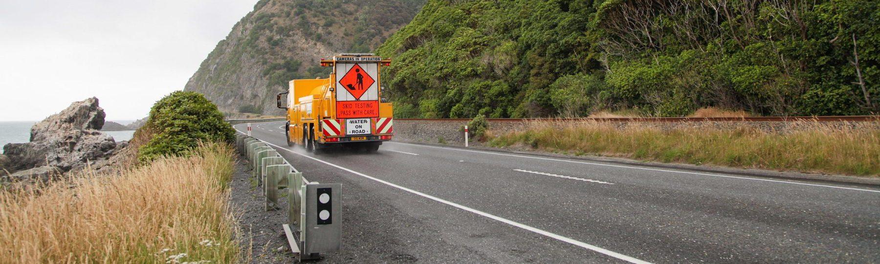 Straße auf Neuseeland