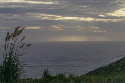 Beginnender Sonnenuntergang am Cape Reinga