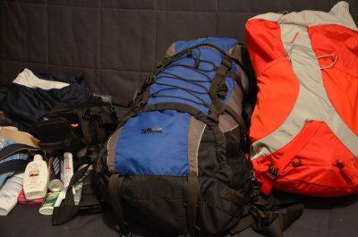 Mit Sack und Pack nach Neuseeland