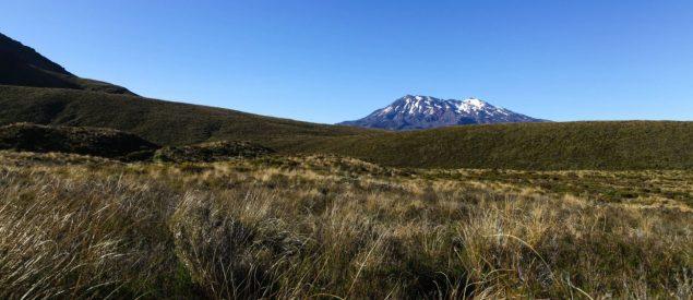 Mount Ruapehu auf dem Tongariro Alpine Crossing