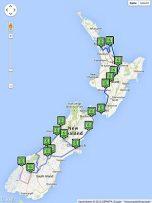 Rundreise über die Nord- und die Südinsel