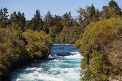 Waikato River bei den Huka Falls