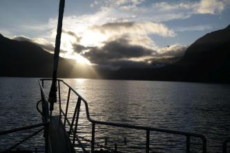 Morgenstimmung am Doubtful Sound