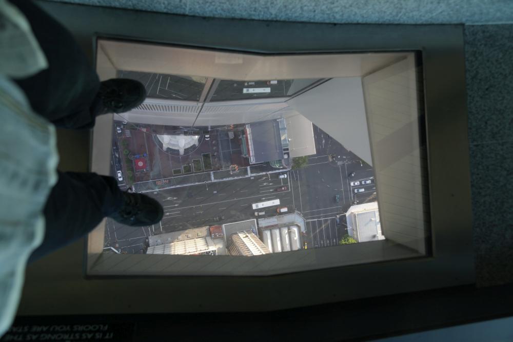 Sky Tower mit Glasboden