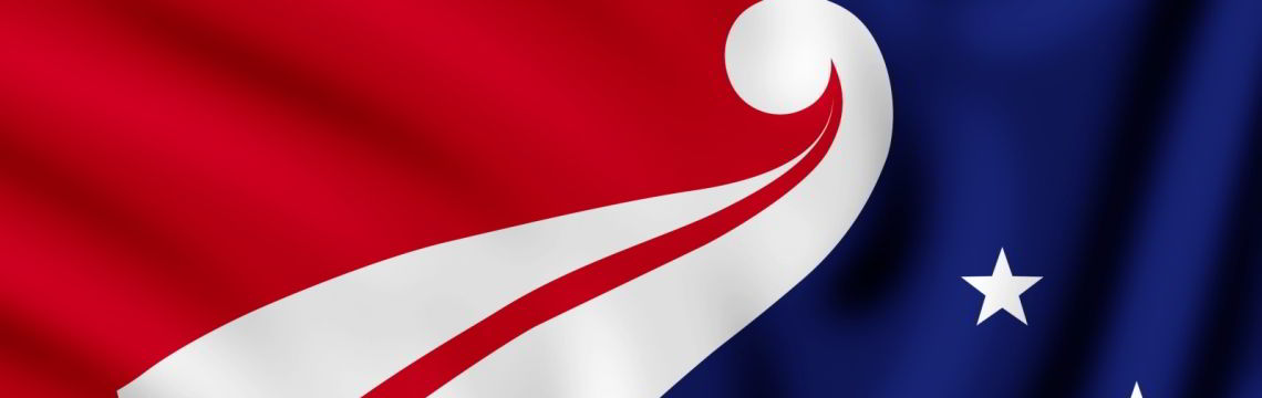 Vorschlag von Denise Fung zur neuen Flagge für Neuseeland