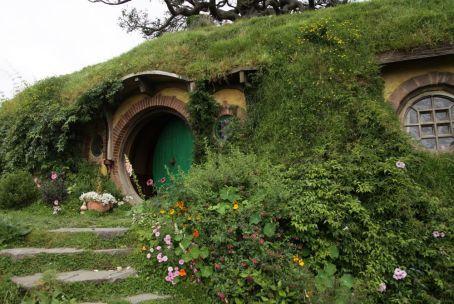 Bilbo Beutlins Haus in Hobbingen