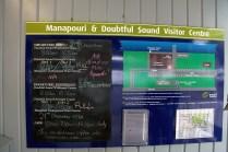 Manapouri und Doubtful Sound Visitor Centre