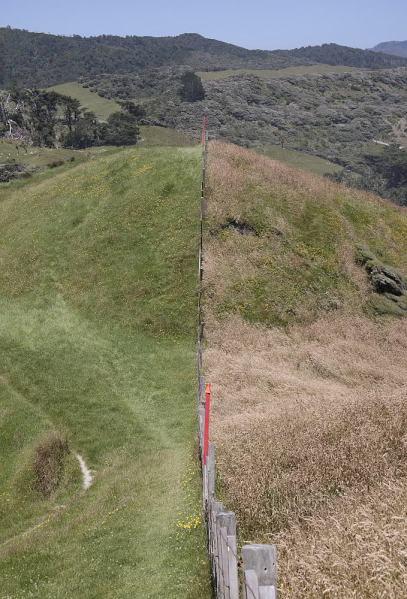 Blick in die umgebenden Hügel