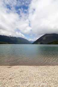 Strand am Lake Rotoiti