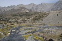Karge Landschaft am SH 73