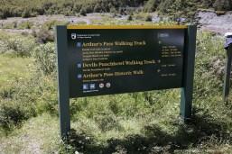 Short Walks at Arhur's Pass