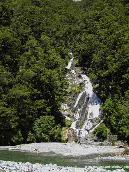 Fantail Falls - Haast Pass