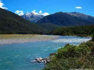 Haast Pass River