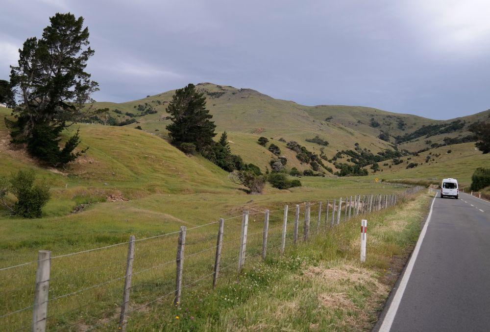 Auf dem State Highway Richtung Akarao