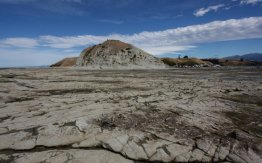 Kaikoura Neuseeland - bei Ebbe auf dem Meeresboden wandern