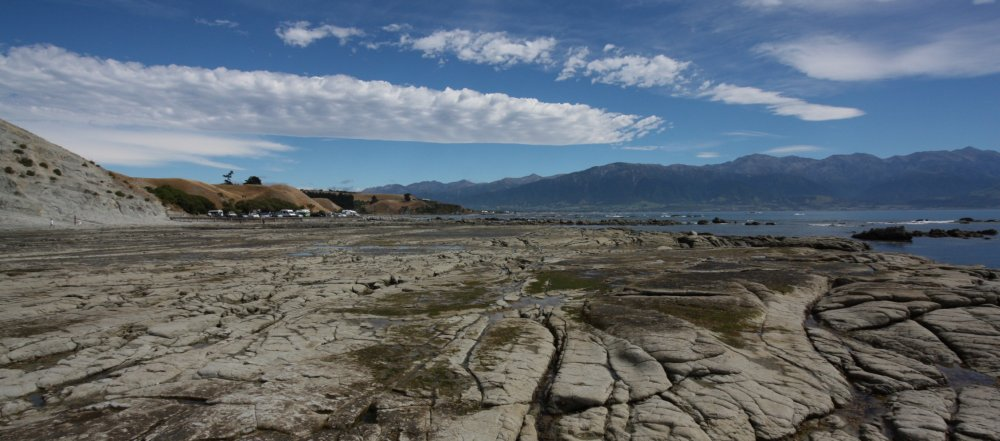Kaikoura Neuseeland - Wandern auf dem Meeresboden