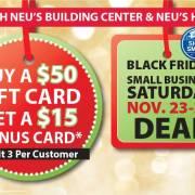 neus gift card promo