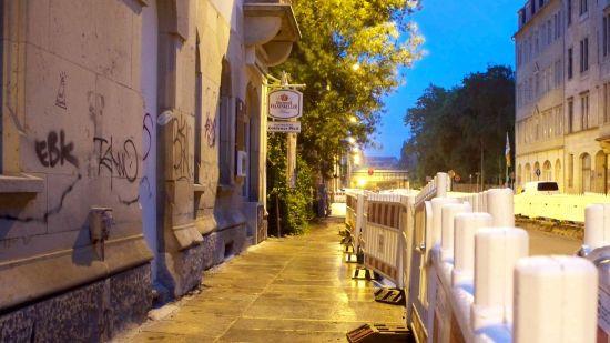 Gaststätte Goldener Pfeil im Bogenviertel