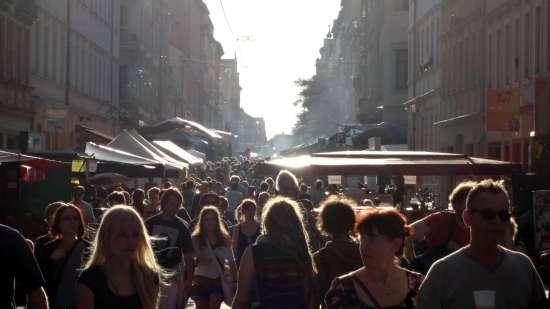 Louisenstraße zur BRN 2013 - Foto: Archiv