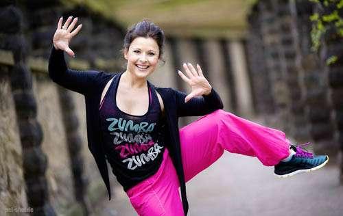 Zumba®-Trainerin Claudia Seidel