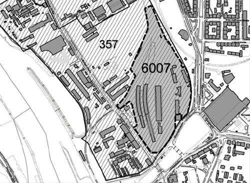 Zur Einordnung des Projektes ein Kartenausriss. Quelle: Stadtverwaltung