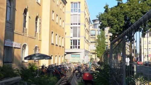 Fahrräder aus zweiter Hand auf der Lößnitzstraße