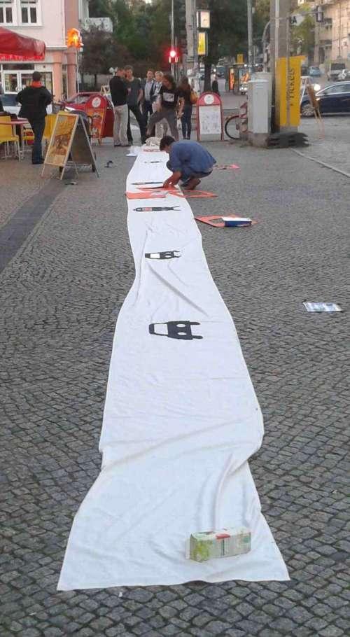 "Transparent zur ""Königsbrücker"""