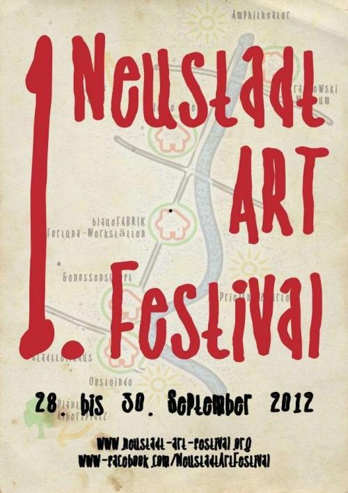 2012 fand das erste Neustadt-Art-Festival statt.