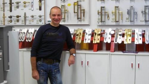 Schlüsselquick-Chef Hans-Dieter Werner