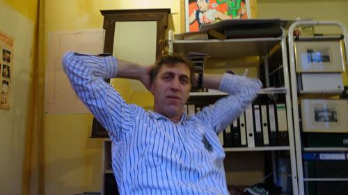 Klaus Körner - der Mann hinter der Groovestation.