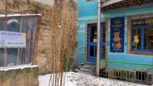 Bambushaus-Ausverkauf